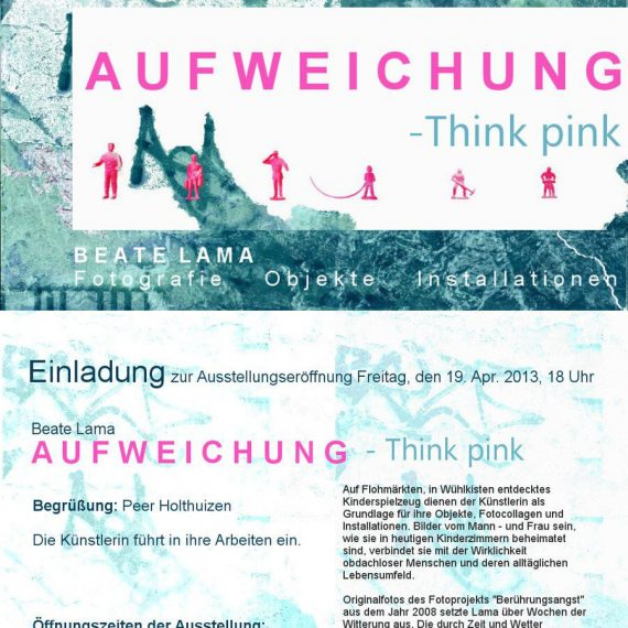 Aufweichung - Think Pink